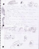 Notebook scribbles... by Ms-Silver