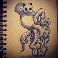 Kung Fu Pandopus by lookhappy