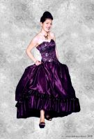Purple Reign Ballgown by tanmei