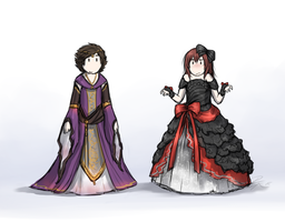 Nuzlocke guys in dresses MEME by Emilianite