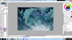 Anivia WIP again haha by TacSigh
