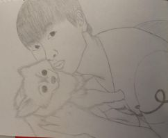Eunhyuk Sketch by SquishyPandaPower