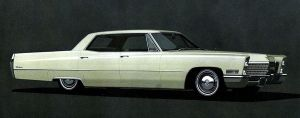 After the age of chrome and fins : 1967 Cadillac by Peterhoff3