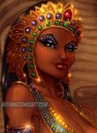 Blood from the Mummy's Tomb -Color detail by nathanscomicart