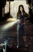 Left 4 Dead - Zoey by juhoham