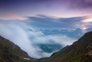 Above the Clouds by DeingeL