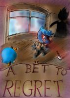 A Bet to Regret (Colored) by KuddlyFatality