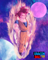 Super Saiyan God Goku by ivan1426