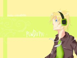 Fan Art - PewDiePie by Kaiko-Ritsu