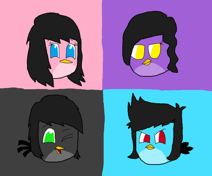 (AT) Four of them by SprixieFan12345