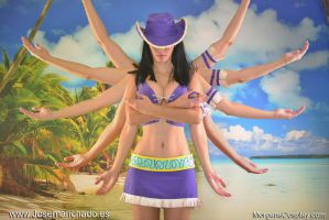 Nico Robin Cosplay, One Piece (Arabasta) by Morganita86