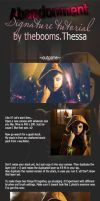 Abandonment Signature Tutorial by Thez-Art