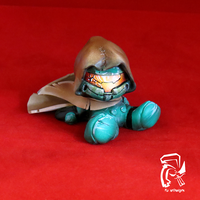 Halo Master Chief Lil' Jammie by FullerDesigns