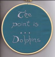 The Point Is Dophins by Merliquin
