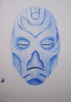 Dragonpriest Mask by Siobhan68