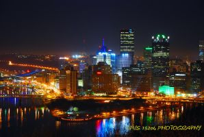 Pittsburgh Skyline by pjs15204