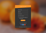 DailyUI Challenge, Sign Up Form by xara24