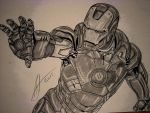 Iron Man from The Avengers by Antevohunter