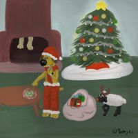 Bitzer's Christmas by sorjei