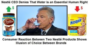 Nestle Water and the Illusion of Choice by Valendale