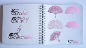 Brushset M01, Fans by Missverstand