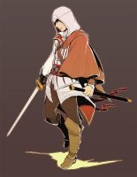 assassin's creed2:Ezio by KEISUKEgumby