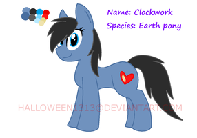Refrence- Clockwork by Halloween1313