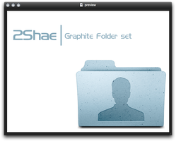 2Shae l Graphite Folder set by 2shaeNL