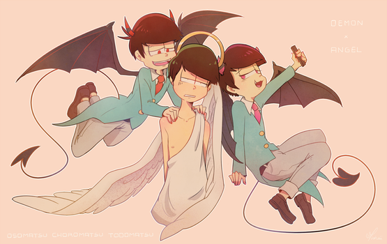 These Devil Brothers... by Umishaii