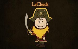LeChuck T-shirt Design by alsnow