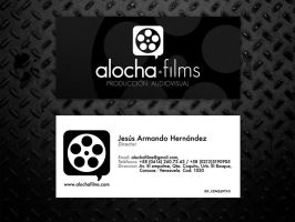 alocha film logo + cards by cesar470
