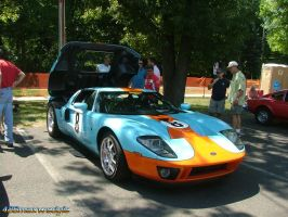Ford GT in Gulf Colors by 426maxwedgie