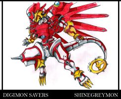 Shinegreymon by Jedaah
