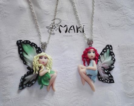 fairy fimo doll by Makicreazion