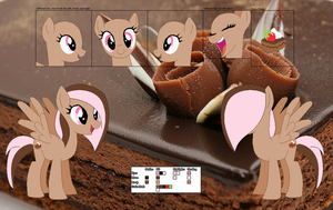 Chocotart's official reference sheet by Starlollipop