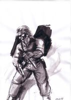 MGS3 Series: Big Boss by SolidSake