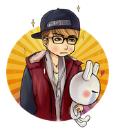 Kris and bunny Line by GigabyteXX