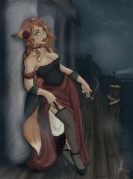 Waterdeep Docks by x-Kitsune-x