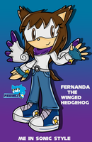 me sonic style in SA by Ferni21
