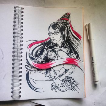 Instaart - Bayonetta (NSFW on Patreon) by Candra