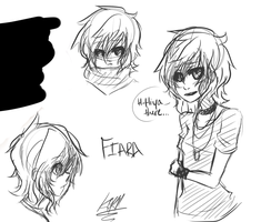 Fiara Sketches by PrinceLameo