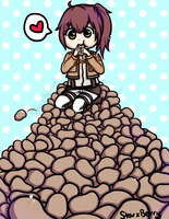 Potato Mountain by StarxBerry