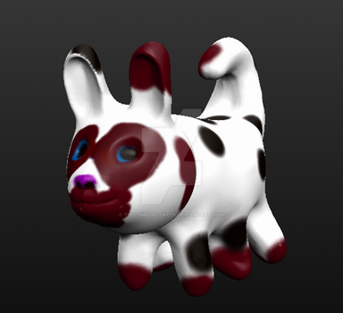 Mutant Rabbit Cow Demon by ThisTimeLastWeek