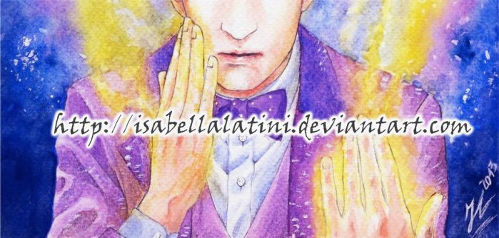 Matt Smith Regeneration - Doctor Who by IsabellaLatini