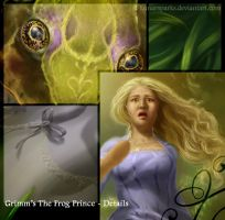 Grimm's The Frog Prince (Details) by lunarsparks