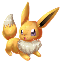 eevee fur 2013 by ko-yuki-chan