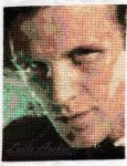 Matt Smith (11th Doctor) - Doctor Who Cross Stitch by lailarshid