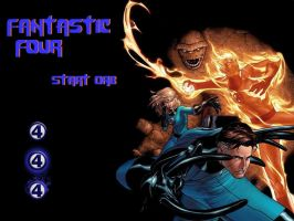 Fantastic Four Start Orb by andyNroses