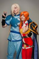 Lina and Gourry 3 by GreatQueenLina