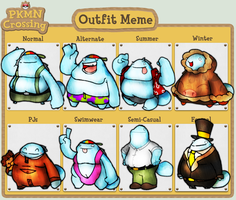 Quarbo- Outfit Meme by Gafagear